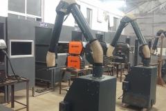 Welding Machine with Fume extractor