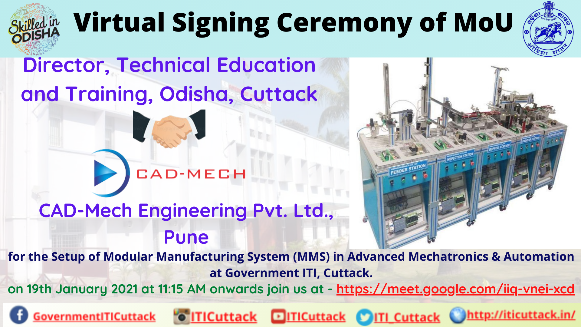 19-01-2021_MoU with CAD-MECH ENGINEERING PVT. LTD., PUNE