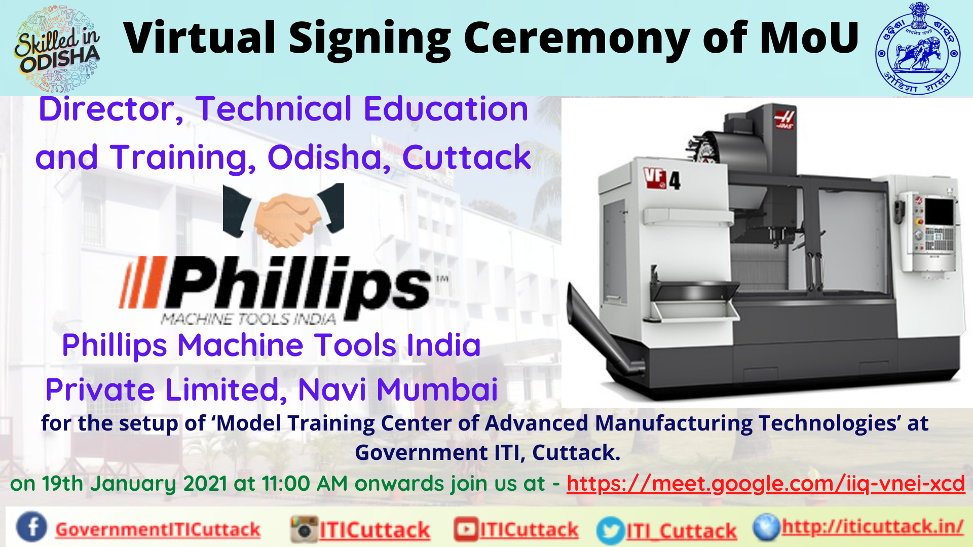 19-01-2021_MoU with Phillips Machine Tools India Private Limited