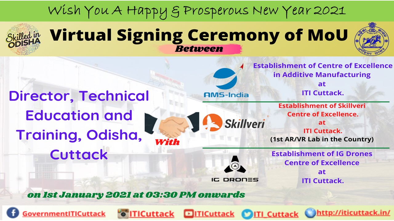 Virtual Signing Ceremony Of MoU